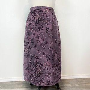 Vintage Dillard's KC Spencer Romantic 90s Skirt 18